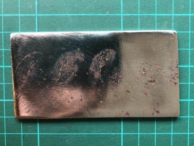 Fingerprints Cause Rust