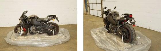 Motorbike Packing
