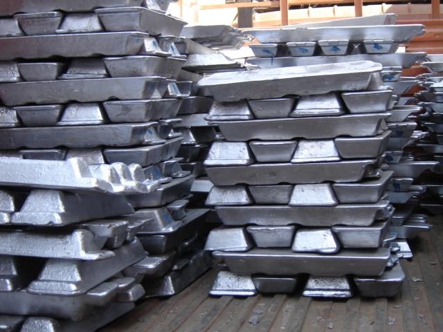 aluminium-ingots