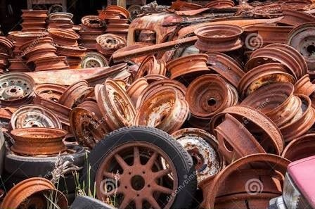 Wheel Rusty Molding