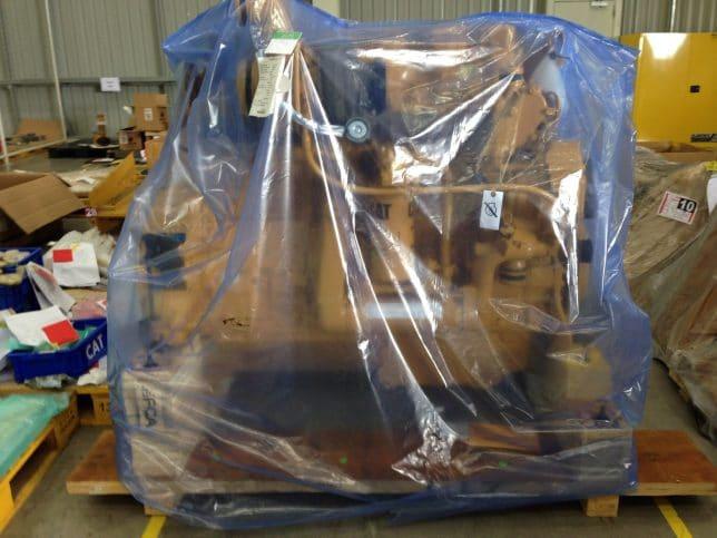 ภาพประกอบถุงพลาสติกกันสนิมสำหรับเก็บโลหะอุตสาหกรรมระยะยาว