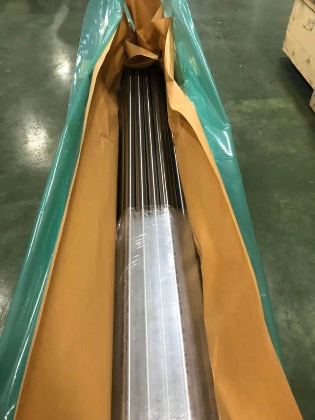 รูปตัวอย่างการใช้งานกระดาษกันสนิมกับถุงพลาสติกกันสนิม